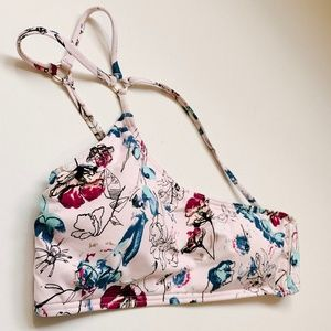 Bikini Lab Bouquet-er to You One Shoulder Bandeau